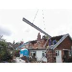 Construction of second storey/loft conversion - DURING