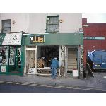 Shop front replacement - DURING