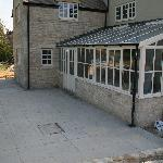 Two storey stone extension & conservatory - AFTER